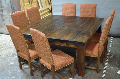 tables et chaises de salle meubles de salle à manger table de bois massif faites