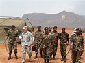 U.S. Army Africa commander observes infantry training in ...