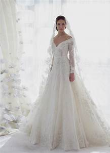 ball gown wedding dresses with off the shoulder sleeves With off the shoulder long sleeve wedding dress