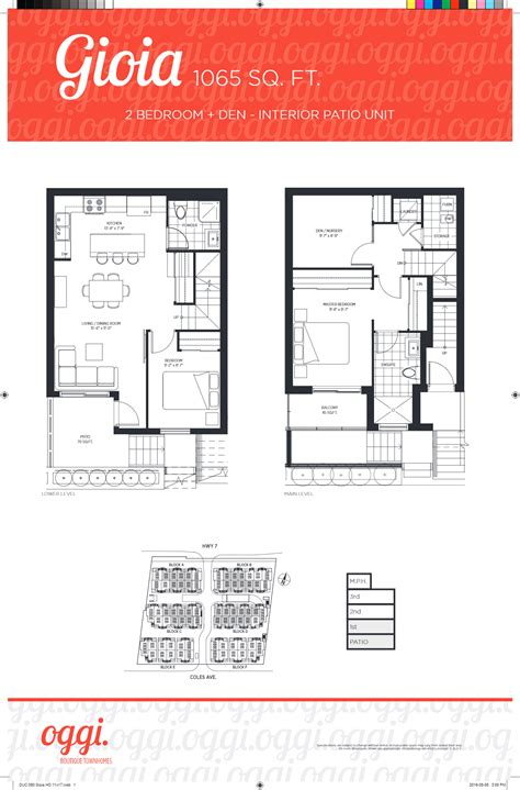 oggi boutique townhomes condos   highway  vaughan