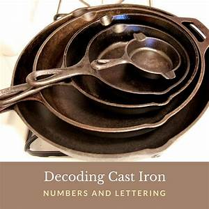 decoding cast iron numbers and lettering shtf prepping With cast iron letters and numbers