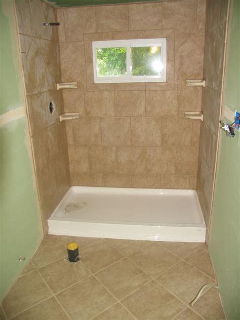 stand  shower  floor tile   shower remodel