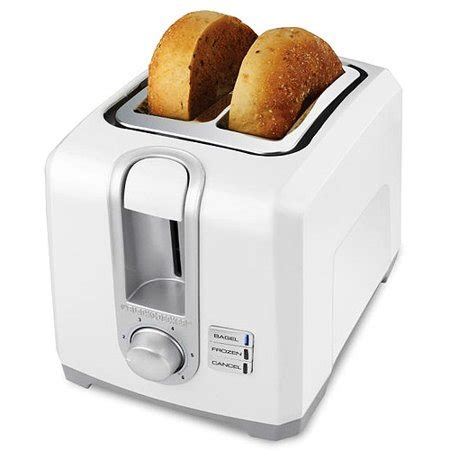 Black And White Toaster by Black And Decker 2 Slice White Toaster Walmart
