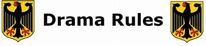 Drama Rules Button