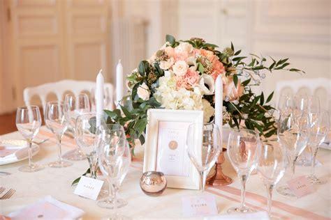 idees pour la decoration dun mariage rose gold le blog
