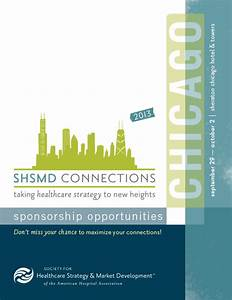 shsmd 2013 conference branding graphic design and branding With sponsorship prospectus template