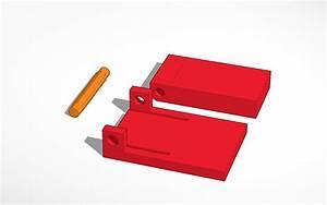 3D design All plastic Snap Hinge | Tinkercad