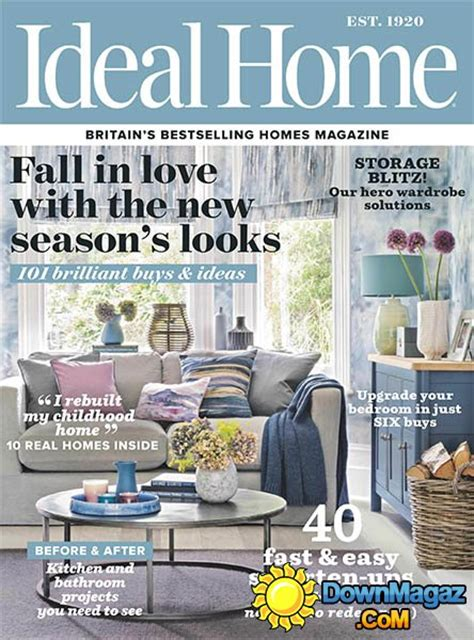 house decorating magazines uk ideal home uk october 2016 187 pdf magazines