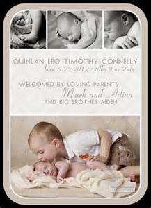 Baby Birth Announcement Templates Free