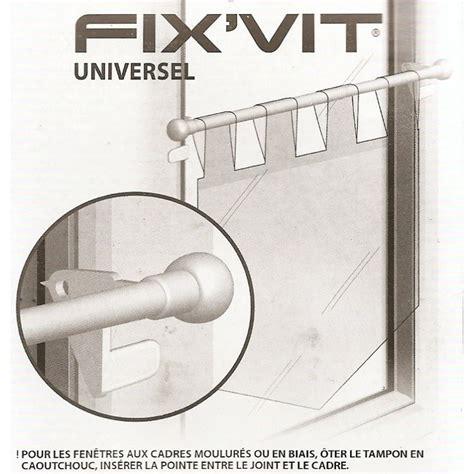 tringle rideaux autobloquante fentre pvc tringle fix vit autobloquante 9mm extensible 30 50cm