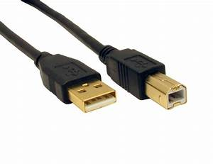 1 8m  2m  Usb Cable Printer Lead Type A To B Male Hi Speed
