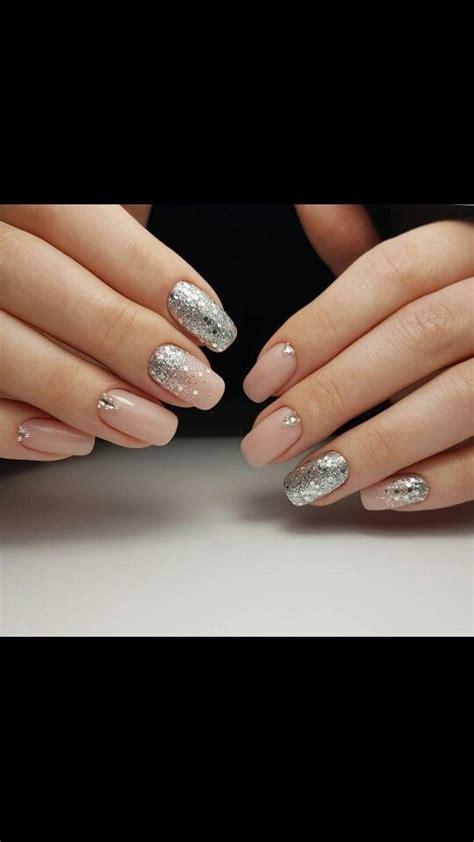 nageldesign rosa nageldesign rosa claro e glitter claro glitter manicure nageldesign