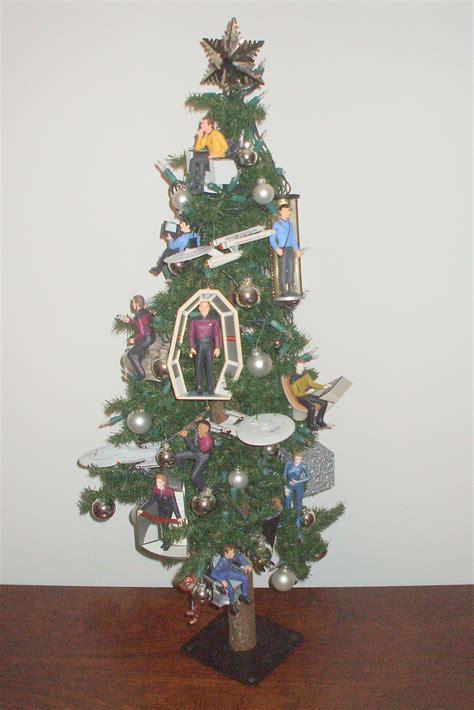 star trek christmas tree  enchanted manor