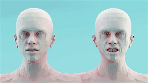 Haunting 3d Animations Explore Human Emotion