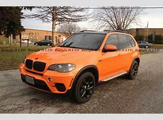 Complete MakeOver Black X5 Turns Fire Orange at