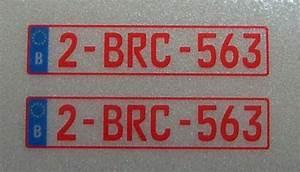 Etiquette Plaque Immatriculation : ensemble de plaques d 39 immatriculation pour la belgique plaques 2 sets b plaque ~ Gottalentnigeria.com Avis de Voitures
