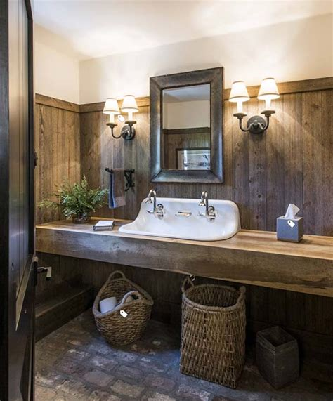 amazing farmhouse trough bathroom sink designs decor