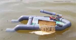 How to make RC Bait Boat Using PVC Pipe