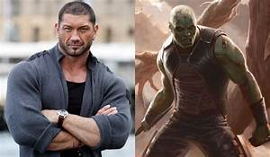 Dave Bautista Cast as Drax the Destroyer in Guardians of ...