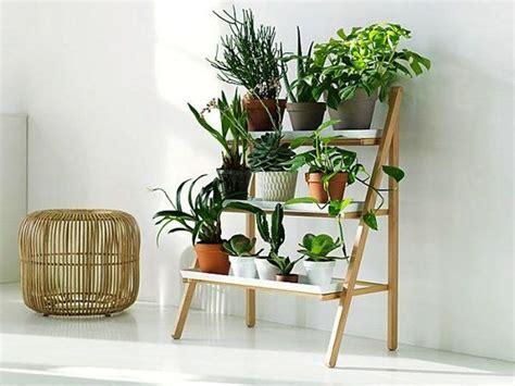 un escalier avec des pots en diff 233 rentes formes d 233 co etagere plante plante interieur et