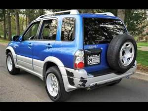 Suzuki Vitara 4x4 : 2004 suzuki grand vitara lx 4x4 2 owners blue for sale ~ Nature-et-papiers.com Idées de Décoration
