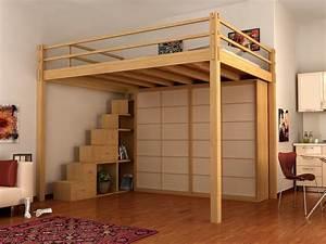 Holz Für Hochbett : yen hochbett by cinius ~ Michelbontemps.com Haus und Dekorationen
