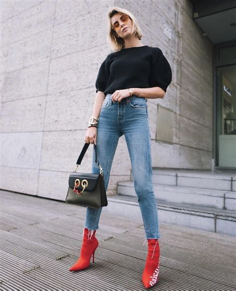 red boots   biggest trend