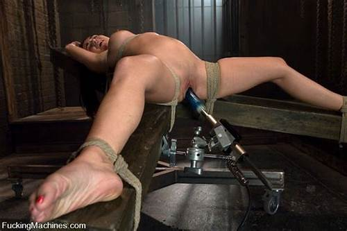 Old Drilled It In The Wrong Hole And Just #Bound #Holly #West #Machine #Fucked #Cum #Drips #Out #Of #Her #Pussy