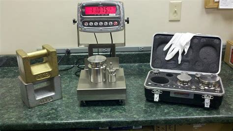 weighing scale calibration service equipment aml