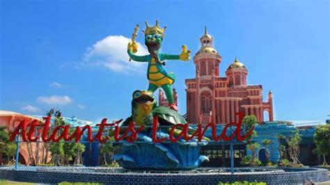 wisata pantai kenjeran surabaya tempat wisata indonesia