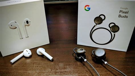 apple airpods vs pixelbuds best wireless earbuds are