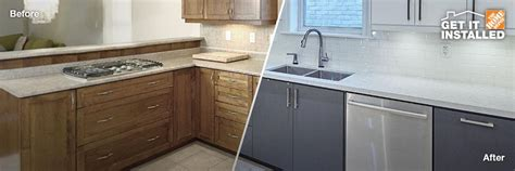 kitchen cabinet refacing home depot cabinet refacing the home depot canada 7924
