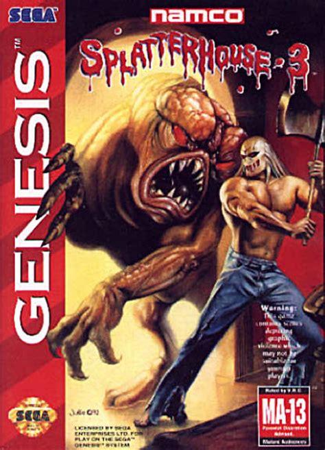 Splatterhouse 3 1993 Genesis Box Cover Art Mobygames