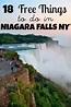 18 Fun and Free Things to do in Niagara Falls New York