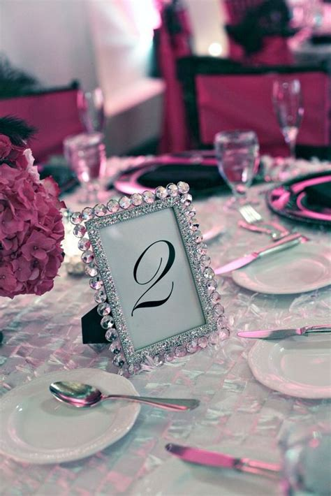 picture frames for wedding tables table numbers pink weddings and frames on pinterest