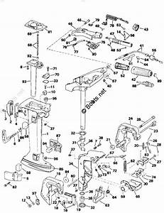 Johnson Outboard Parts By Hp 4hp Oem Parts Diagram For