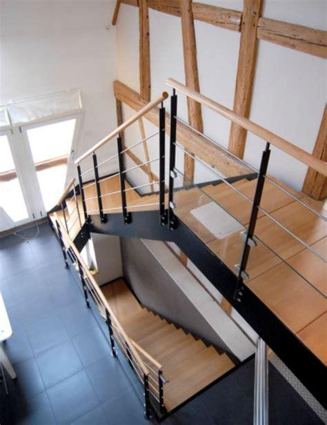 escalier quart tournant avec palier intermediaire escalier courbe d exception schaffner