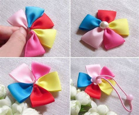 how to make a ribbon how to make baby ribbon hair ties 183 how to make a ribbon hair bow 183 sewing on cut out keep