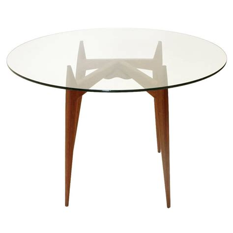mid century glass dining table italian mid century glass dining table 1950s at 1stdibs