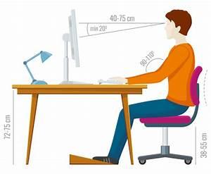 Schreibtisch Position Im Raum : arbeitsplatzergonomie so stellen sie ihren monitor richtig auf ~ Bigdaddyawards.com Haus und Dekorationen