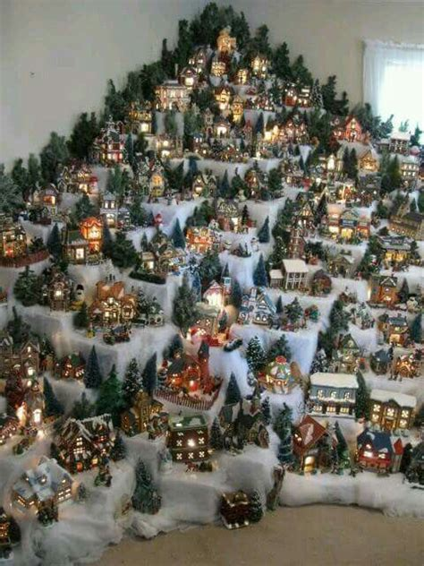 images  christmas village displays  pinterest