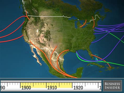 Map Shows History Of Us Immigration Business Insider