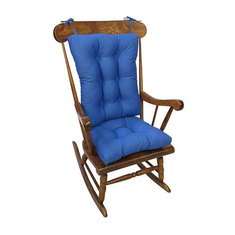 Wayfair Rocking Chair Cushions by Klear Vu Twill Rocking Chair Cushion Reviews Wayfair Ca
