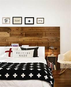 Tete De Lit En Bois : t te de lit en bois cerus pour un aspect l gant vintage ~ Teatrodelosmanantiales.com Idées de Décoration