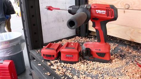 hilti akkuschrauber 18v hilti 22v li ion hammer drill driver sf 6h a22 atc
