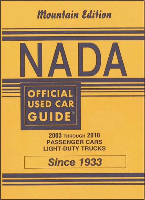 Nada Used Car Values Adanihcom