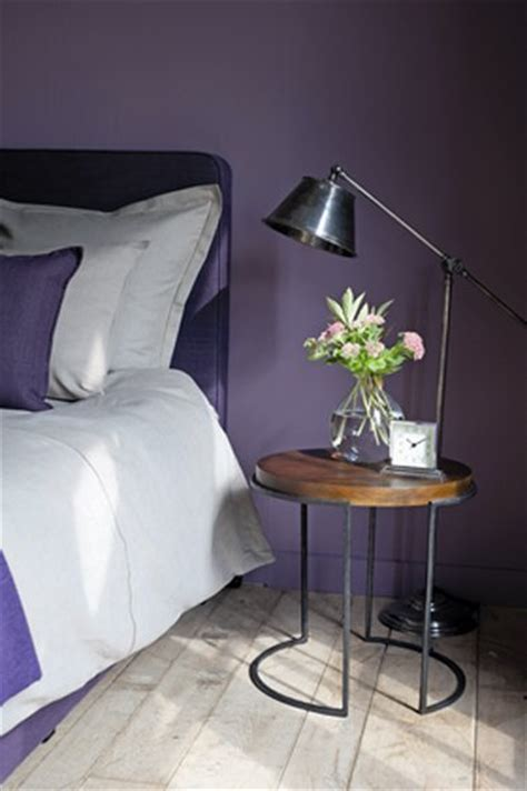 couleur violet pour chambre couleur peinture chambre violet flamant