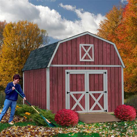 best barns denver1220 denver 12ft x 20ft shed kit