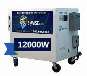 Solar Generator - 12 000 Watt