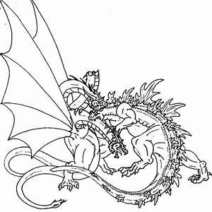 Godzilla vs. King Ghidorah by Scatha-the-Worm on DeviantArt